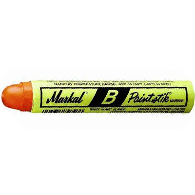 Orange Markal B Paint Stick