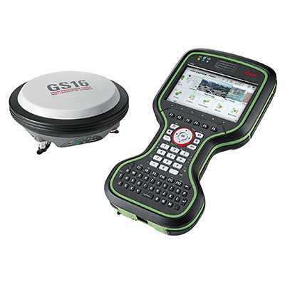 Leica GS16 GNSS with CS20 Controller - GNSS Smart Antenna