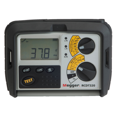 Megger RCDT 320 Residual Current Device Tester