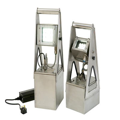 Rechargeable Wolf LED ATEX Worklight - Zone 1