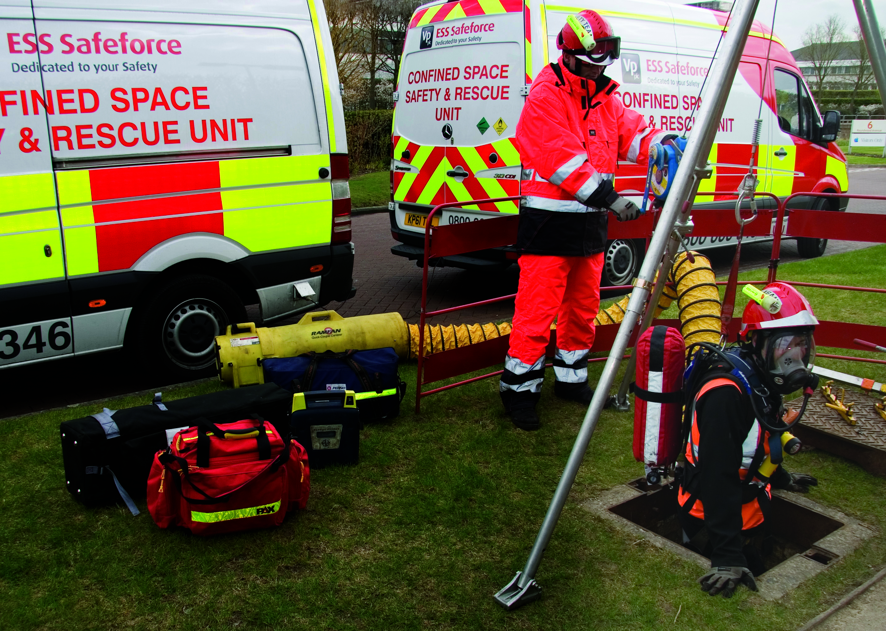 Ess Safeforce The Uk S Safety Equipment Hire Specialist