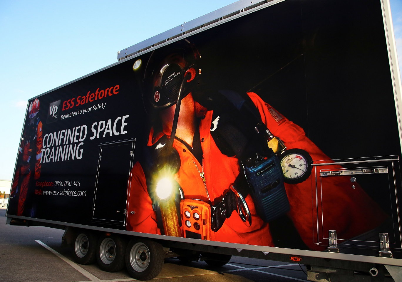 On-site Confined Space Training Unit
