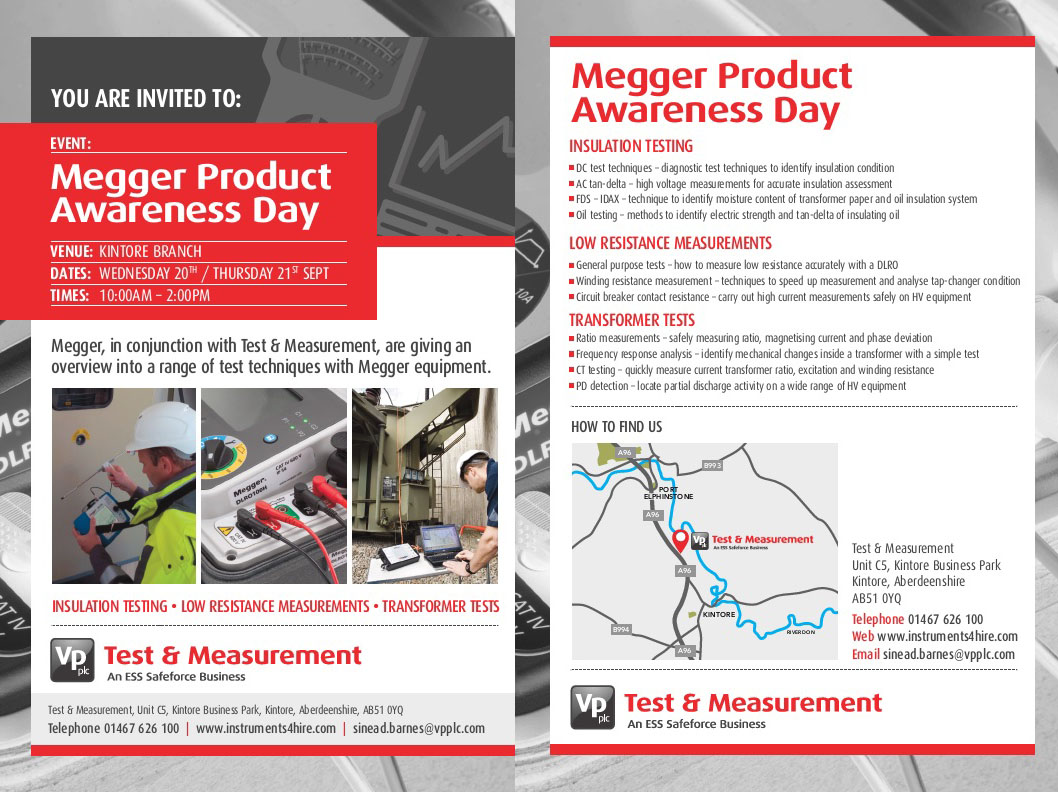 Megger Product Awareness Day