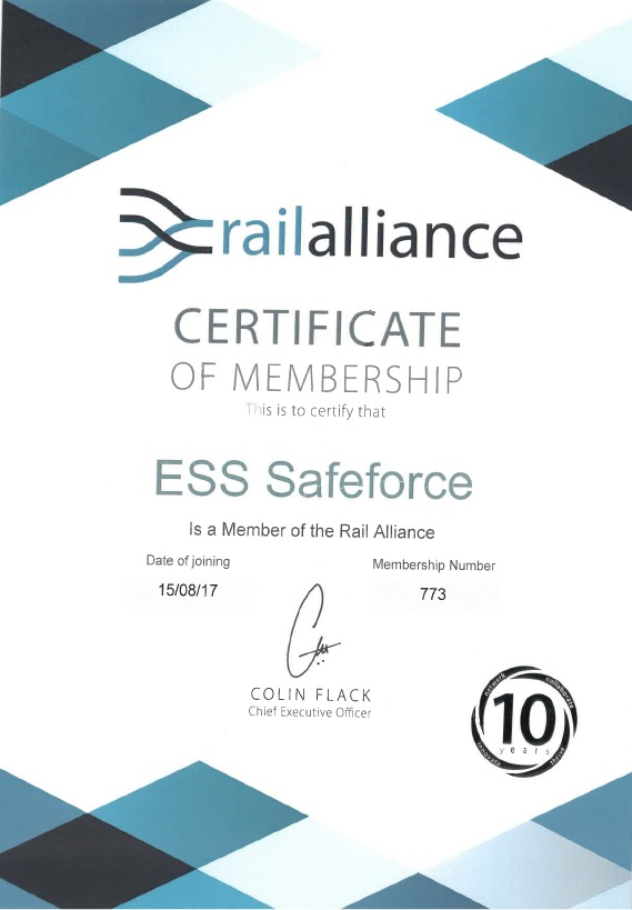 ESS Safeforce - Rail Alliance