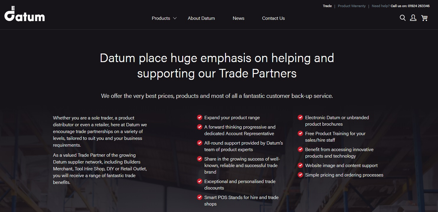 Datum Survey Products